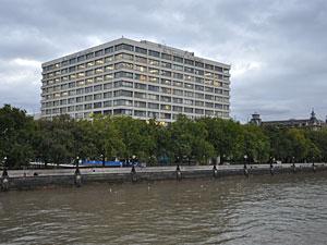 ロンドンの聖トーマス病院(2009年9月撮影)