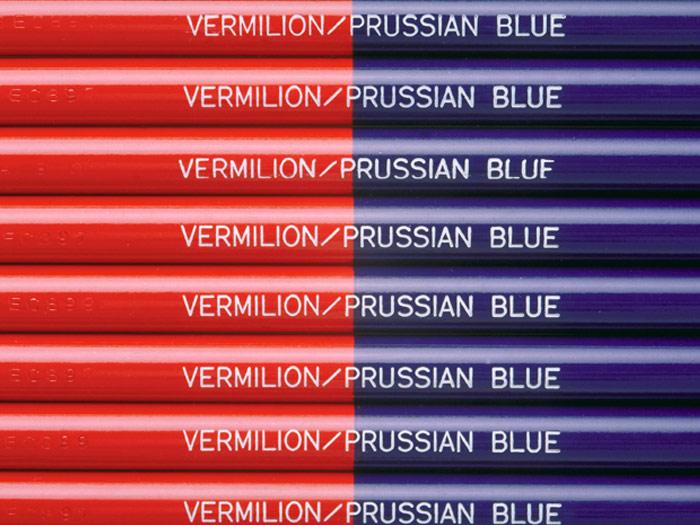 トンボ鉛筆「赤青鉛筆」